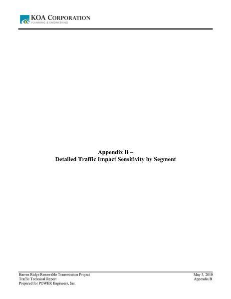 File:Barren Ridge FEIS-Volume III Traffic appendix B Detailed Traffic Impact Sensitivity by Segment.pdf