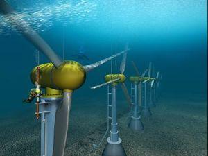 Turbinas marinas