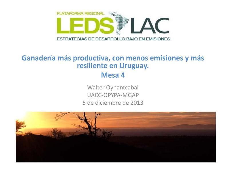 File:Ganadería mas productiva, con menos emisiones y mas relisiencia en Uruguay - Walter Oyhantcabal.pdf