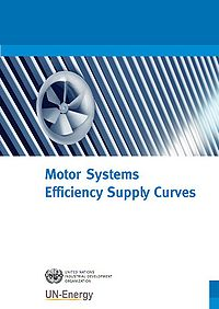 Motor Systems Efficiency Supply Curves Screenshot