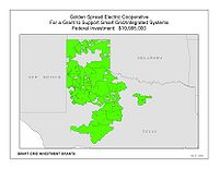 Coverage Map: Golden Spread Electric Cooperative, Inc. Smart Grid Project