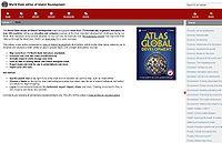 World Bank eAtlas of Global Development Screenshot