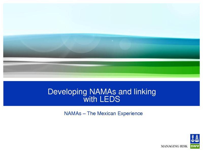 File:Eduardo Dopazo - Developing NAMAs and linking with LEDS ml.pdf