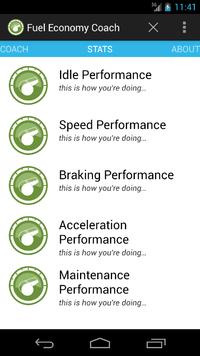 Fuel Economy Coach Screenshot