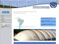 OLADE-Geo-Information System Referenced Renewable Energy Screenshot