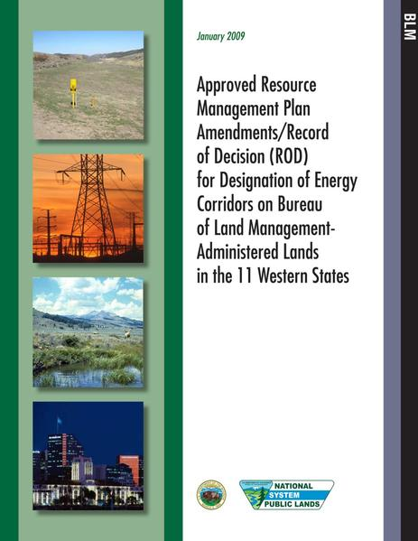 File:Energy Corridors final signed ROD 1 14 2009.pdf