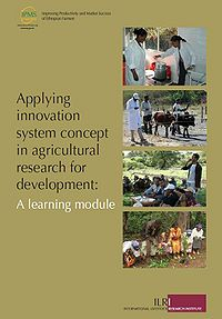 Applying Innovation System Concept in Agricultural Research for Development: A learning module Screenshot