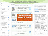 LEDS Toolkit and Methodology Screenshot