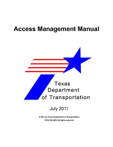 File:TxDOT Access Management Manual.pdf