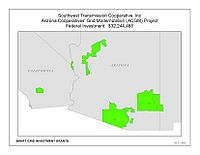 Coverage Map: Southwest Transmission Cooperative, Inc. Smart Grid Project