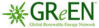 Logo: Global Renewable Energy Network (GReEN)