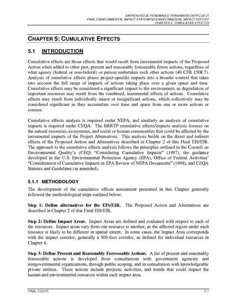 File:Barren Ridge FEIS-Volume I Chapter 5 Cumulative Effects FINAL-R.pdf
