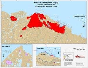 Alaskan North Slope By 2001 Liquids Reserve Class