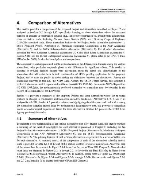 File:Tehachapi Renewable FEIS Volume II 5 Comparison of Alternatives.pdf