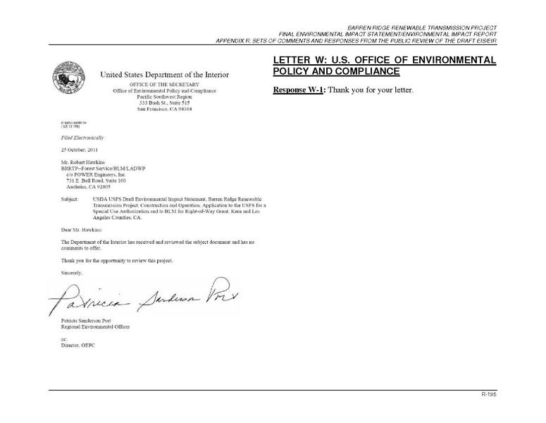 File:Barren Ridge FEIS-Volume II App R, Part 2I-Comment Letters WthruZ.pdf
