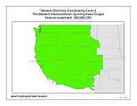 Coverage Map: Western Electricity Coordinating Council Smart Grid Project