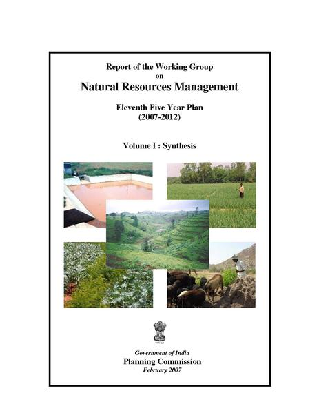 File:India Natural Resource Management Eleven Five Year Plan 2007-2011 .pdf