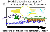 Logo: South Dakota Department of Environmental and Natural Resources