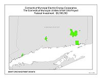 Coverage Map: Connecticut Municipal Electric Energy Cooperative Smart Grid Project