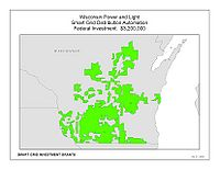 Coverage Map: Wisconsin Power and Light Company Smart Grid Project