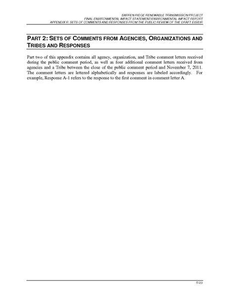 File:Barren Ridge FEIS-Volume II App R, Part 2A-Comment Letters AthruD.pdf