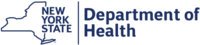 Logo: New York State Department of Health