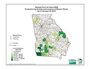 Georgia Ethanol Plant Locations