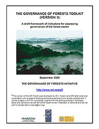 WRI-The Governance of Forests Toolkit Screenshot