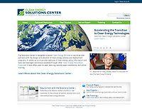 Clean Energy Solutions Center Screenshot