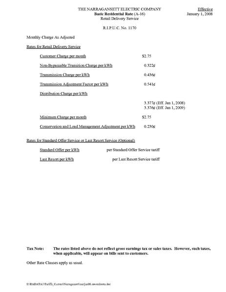 File:Utility Rate rates tariff.pdf