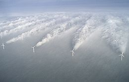 One of the 2 Danish wind farms used in the FEIS, Horns Rev