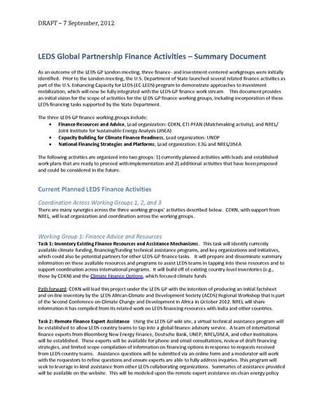 File:LEDS Global Partnership - Summary of Finance Activities 10sept2012.pdf