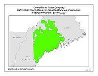 Coverage Map: Central Maine Power Company Smart Grid Project