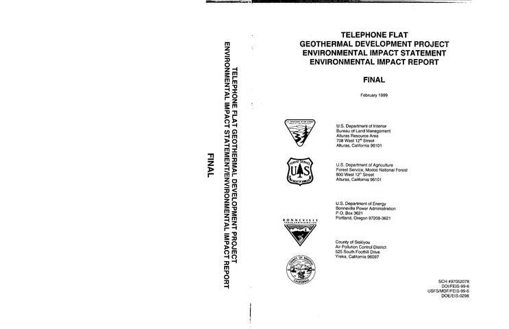 File:Telephone Flat - Final EIS.pdf
