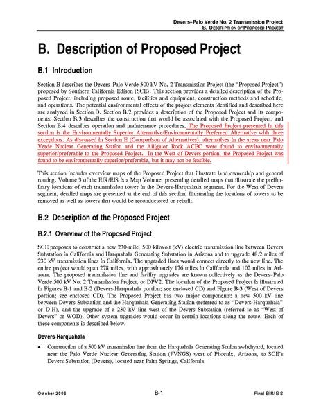 File:Devers Palo Verde No2-FEIS B Description of Proposed Project.pdf