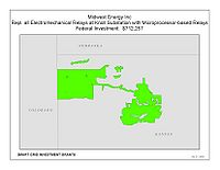 Coverage Map: Midwest Energy Inc. Smart Grid Project