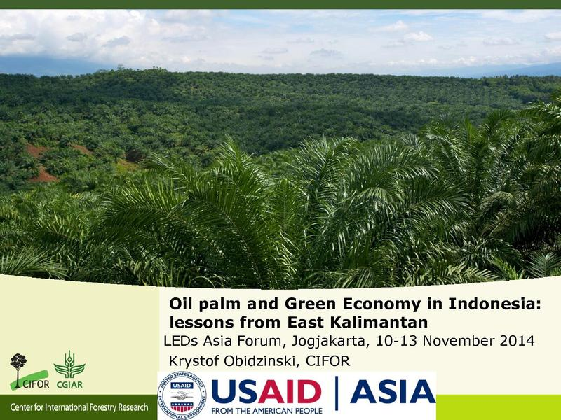 File:OP and GE in East Kalimantan prospects and challanges.pdf