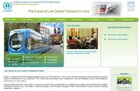 UNEP-Low Carbon Transport in India Screenshot