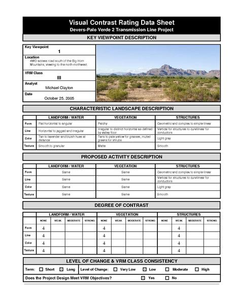 File:Devers Palo Verde No2-FEIS D3g Visual Resources Appendix 4 Visual Contrast Rating Data Sheets.pdf