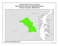 Coverage Map: Potomac Electric Power Company (PEPCO) Smart Grid Project