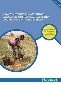 How to Integrate Climate Change Adaptation into National-Level Policy and Planning in the Water Sector Screenshot