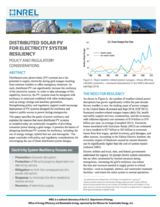 Optimal Sizing of a Solar-Plus-Storage System For Utility Bill Savings and Resiliency Benefits