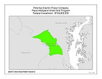 Coverage Map: Potomac Electric Power Company (PEPCO) Smart Grid Project (Maryland)