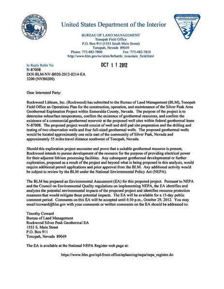 File:Silver Peak Draft EA Letter 20121011.pdf