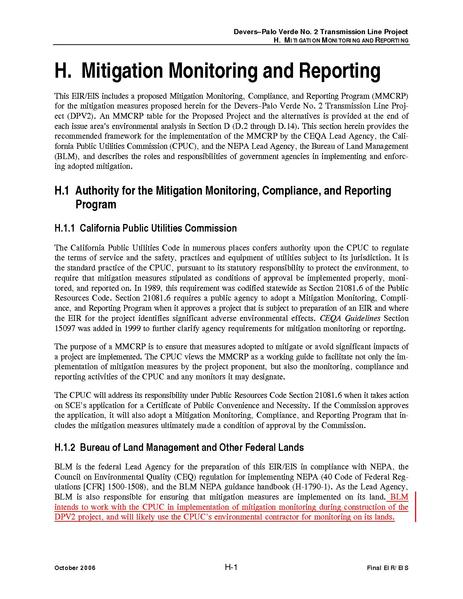 File:Devers Palo Verde No2-FEIS H Mitigation Monitoring.pdf