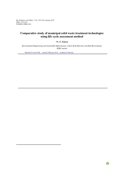 File:Comparative study of municipal solid waste treatment technologies using life cycle assessment method.pdf