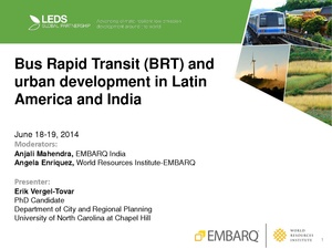 Bus Rapid Transit (BRT) and Urban Development in Latin America and India.pdf