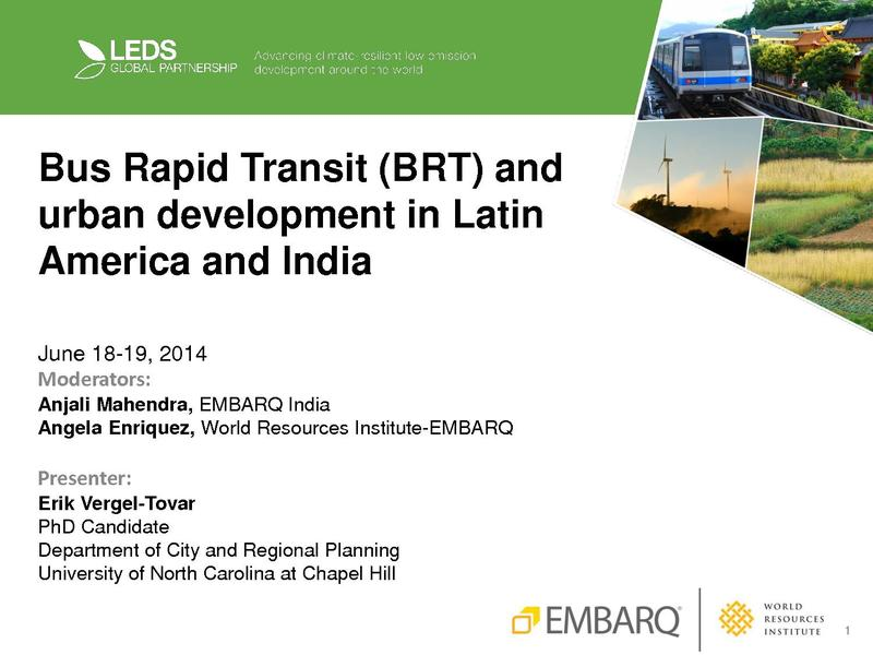 File:Bus Rapid Transit (BRT) and Urban Development in Latin America and India.pdf