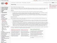UNFCCC-Finance Portal Screenshot
