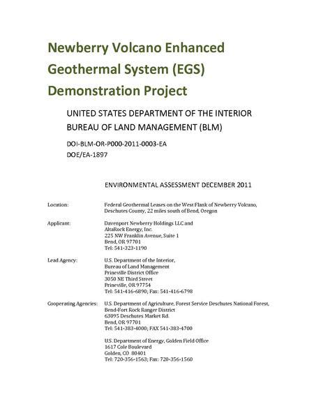 File:EA DOI‐BLM‐OR‐P000‐2011‐0003‐EA Newberry EGS.pdf